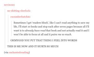 Readers-block